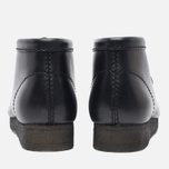 Мужские ботинки Clarks Originals Wallabee Leather Black фото- 5