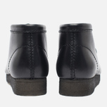 Clarks Originals Wallabee Leather Men's shoes Black photo- 5