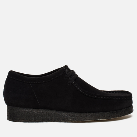 Мужские ботинки Clarks Originals Wallabee Suede Black