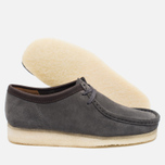 Clarks Originals Wallabee Suede Men's shoes Charcoal photo- 1