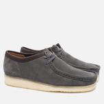 Clarks Originals Wallabee Suede Men's shoes Charcoal photo- 2