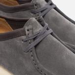 Clarks Originals Wallabee Suede Men's shoes Charcoal photo- 3