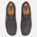 Мужские ботинки Clarks Originals Wallabee Suede Charcoal фото- 4