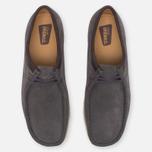 Clarks Originals Wallabee Suede Men's shoes Charcoal photo- 4