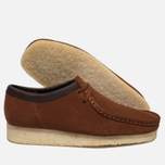 Мужские ботинки Clarks Originals Wallabee Suede Dark Tan фото- 1