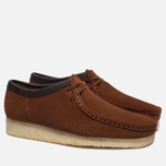 Мужские ботинки Clarks Originals Wallabee Suede Dark Tan фото- 2