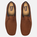 Мужские ботинки Clarks Originals Wallabee Suede Dark Tan фото- 3