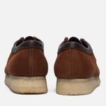 Мужские ботинки Clarks Originals Wallabee Suede Dark Tan фото- 4