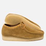 Мужские ботинки Clarks Originals x Stussy Wallabee Golden Brown фото- 2