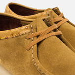 Мужские ботинки Clarks Originals x Stussy Wallabee Golden Brown фото- 5