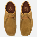 Мужские ботинки Clarks Originals x Stussy Wallabee Golden Brown фото- 4