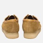 Мужские ботинки Clarks Originals x Stussy Wallabee Golden Brown фото- 3