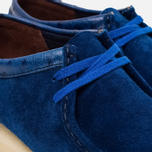 Мужские ботинки Clarks Originals x Stussy Wallabee Royal Blue фото- 5