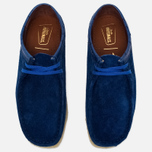 Мужские ботинки Clarks Originals x Stussy Wallabee Royal Blue фото- 4