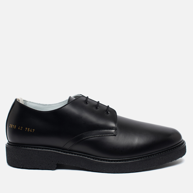 Мужские ботинки Common Projects Cadet Derby 2016 Black
