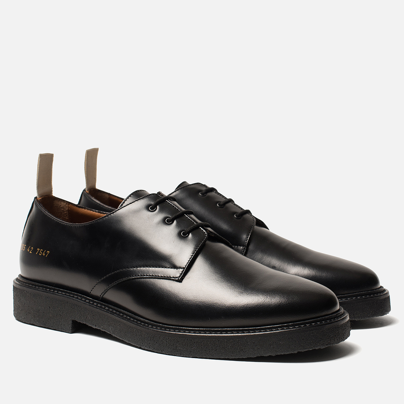 Мужские ботинки Common Projects Cadet Derby 2205 Black