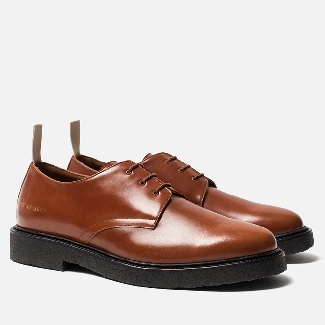 Мужские ботинки Common Projects Cadet Derby 2205 Brown