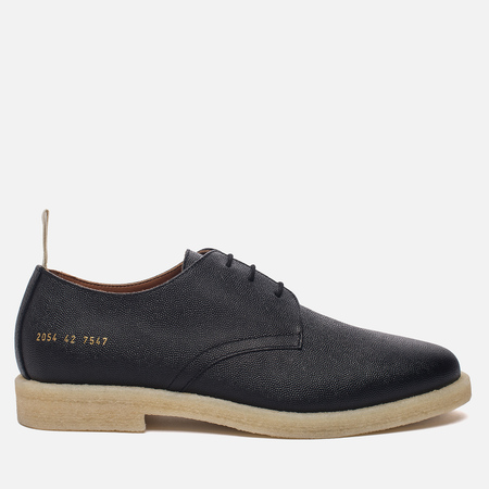 Мужские ботинки Common Projects Cadet Derby Stamped Grain Black