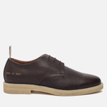 Мужские ботинки Common Projects Cadet Derby Stamped Grain Brown фото- 0