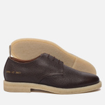 Мужские ботинки Common Projects Cadet Derby Stamped Grain Brown фото- 1
