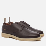 Мужские ботинки Common Projects Cadet Derby Stamped Grain Brown фото- 2