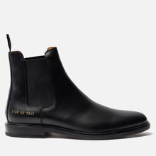 Мужские ботинки Common Projects Chelsea Leather Black фото- 0