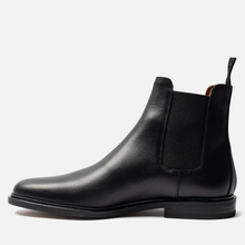 Мужские ботинки Common Projects Chelsea Leather Black фото- 2