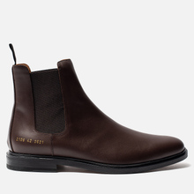 Мужские ботинки Common Projects Chelsea Leather Brown фото- 0
