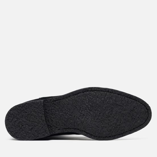 Мужские ботинки Common Projects Chelsea Suede Black