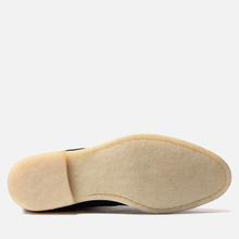 Мужские ботинки Common Projects Chelsea Suede Black/White Sole фото- 4