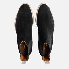 Мужские ботинки Common Projects Chelsea Suede Black/White Sole фото- 1