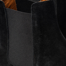 Мужские ботинки Common Projects Chelsea Suede Black/White Sole фото- 6