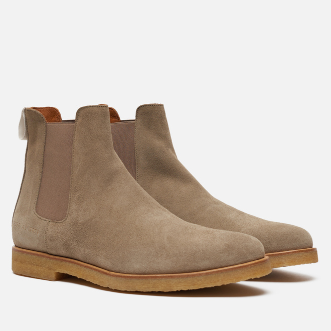 Мужские ботинки Common Projects Chelsea Suede Warm Grey