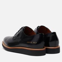 Мужские ботинки Common Projects Derby Shine 2133 Black фото- 2