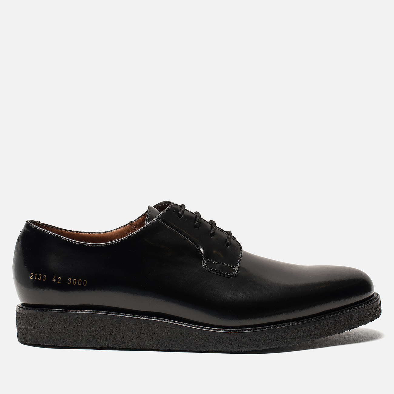 Мужские ботинки Common Projects Derby Shine Black/Black