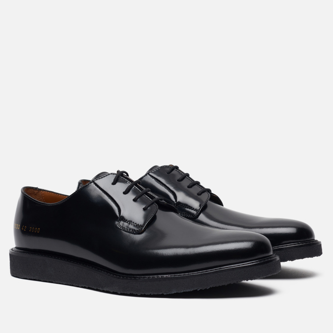 Мужские ботинки Common Projects Derby Shine Black/Black