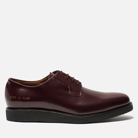 Мужские ботинки Common Projects Derby Shine Burgundy/Black