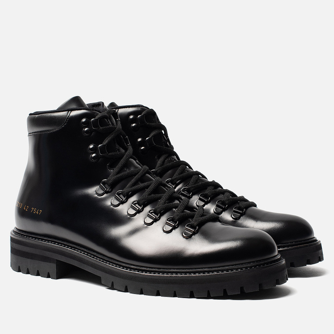 Мужские ботинки Common Projects Hiking 2219 Black