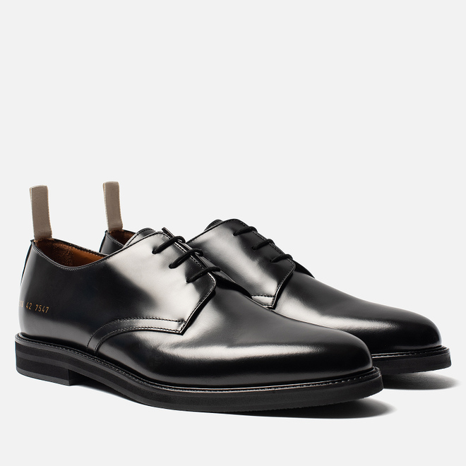 Мужские ботинки Common Projects Standard Derby 2218 Black