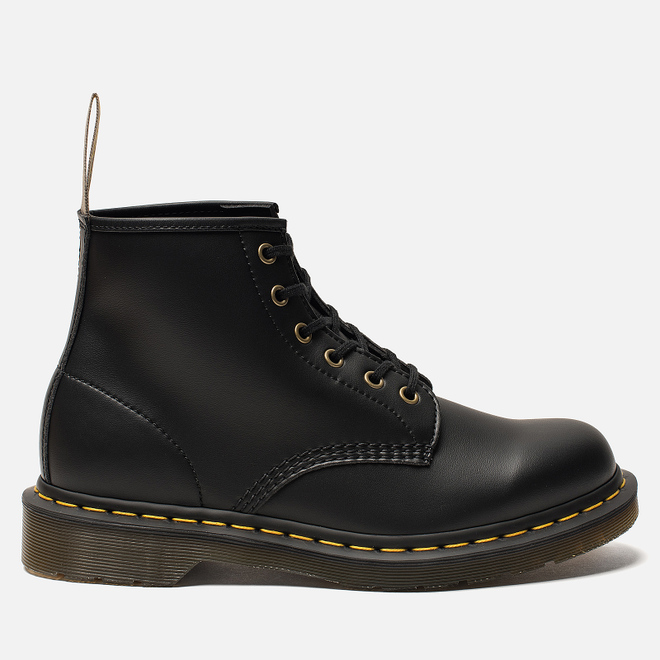 Ботинки Dr. Martens 101 Vegan Felix Rub-Off Black