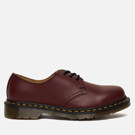 Мужские ботинки Dr. Martens 1461 Smooth 3 Eye Cherry Red