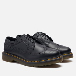 Мужские ботинки Dr. Martens 3989 Yellow Stitch Smooth Black