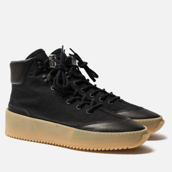 Мужские ботинки Fear of God 6Th Collection Hiker Black/Black