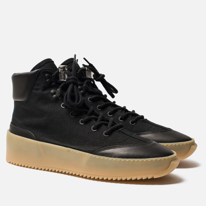 Мужские ботинки Fear of God 6Th Collection Hiker Black/Black