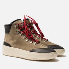 Мужские ботинки Fear of God 6Th Collection Hiker Olive/Black фото- 0