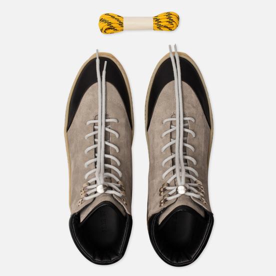 Мужские ботинки Fear of God 6Th Collection Hiker Suede/Calf God Grey