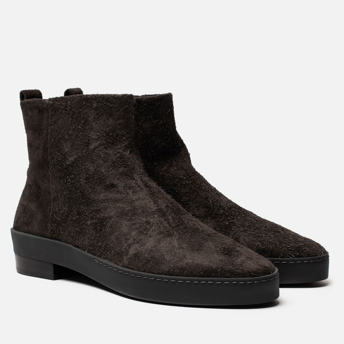 Мужские ботинки Fear of God Chelsea Santa Fe Rough Suede Anthracite