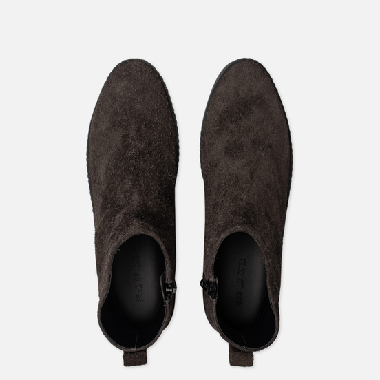 Мужские ботинки Fear of God Chelsea Santa Fe Rough Suede Anthracite