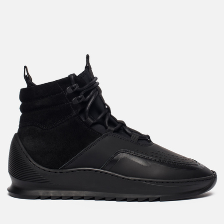 Мужские ботинки Filling Pieces Mid Altitude Heel Cap Tech All Black