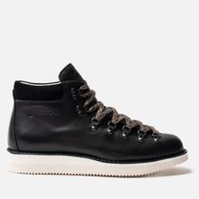 Мужские ботинки Fracap M129 Scarponcini Suede Black/Gloxy White фото- 3